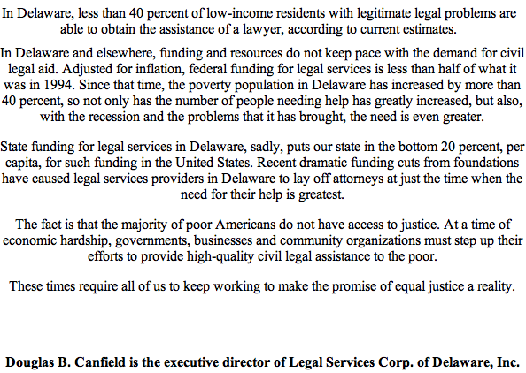 Legal Services for the poor pg 2
